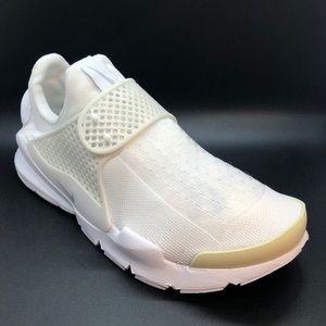 """NEW Nike Women's Sock Dart """"White Pure Platinum"""""""